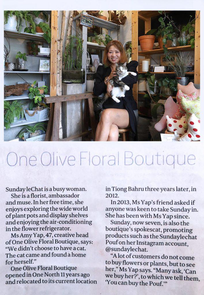 One Olive Press - One Olive Floral Boutique