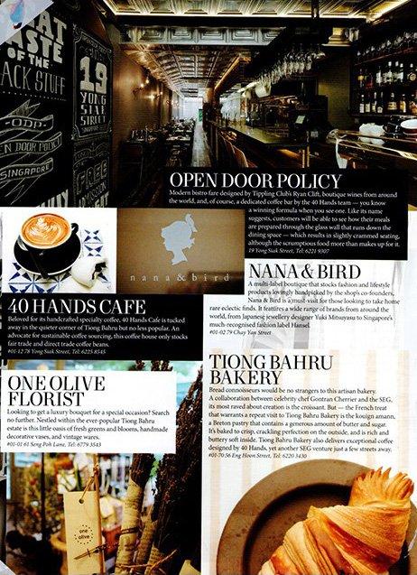 One Olive Press - Magazine article